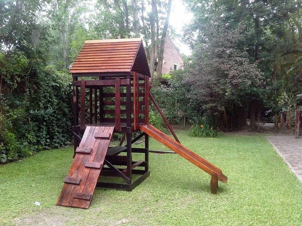 juegos infantiles de madera ideal p jardines y colegios