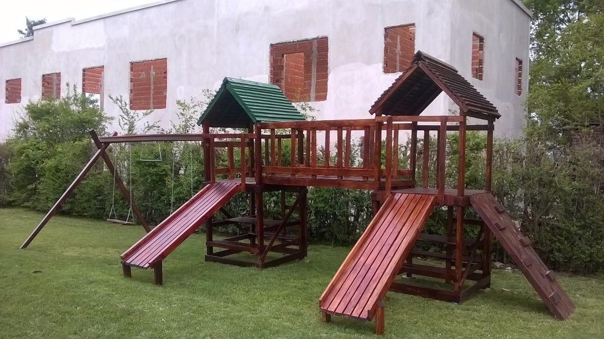 Juegos Infantiles De Madera Para Jardines 31 900 00 En Mercado Libre