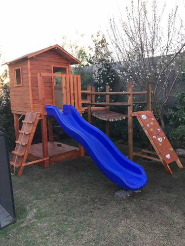 juegos infantiles de madera para patio, casas de muñecas