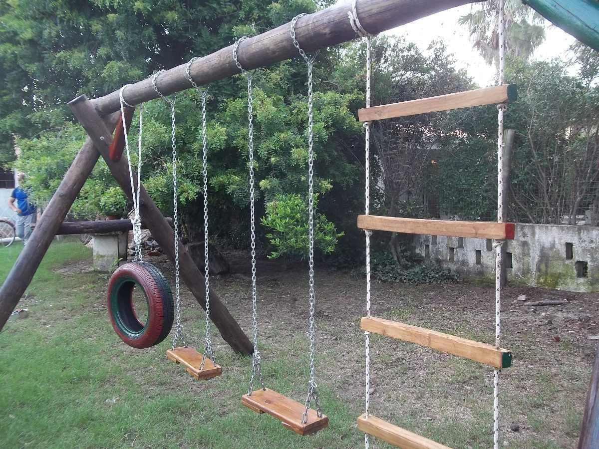juegos infantiles en madera