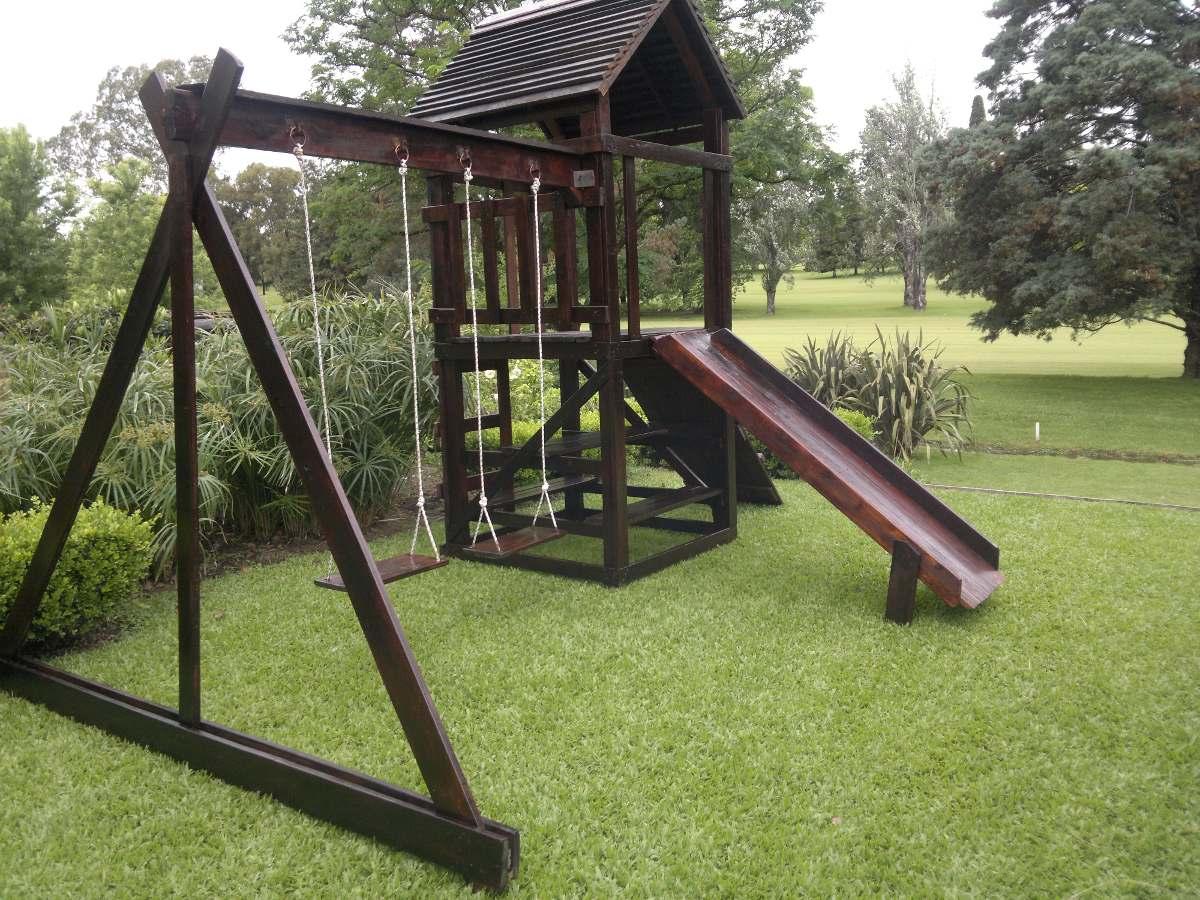 Juegos Infantiles En Madera Exterior Interior 31 900 00 En