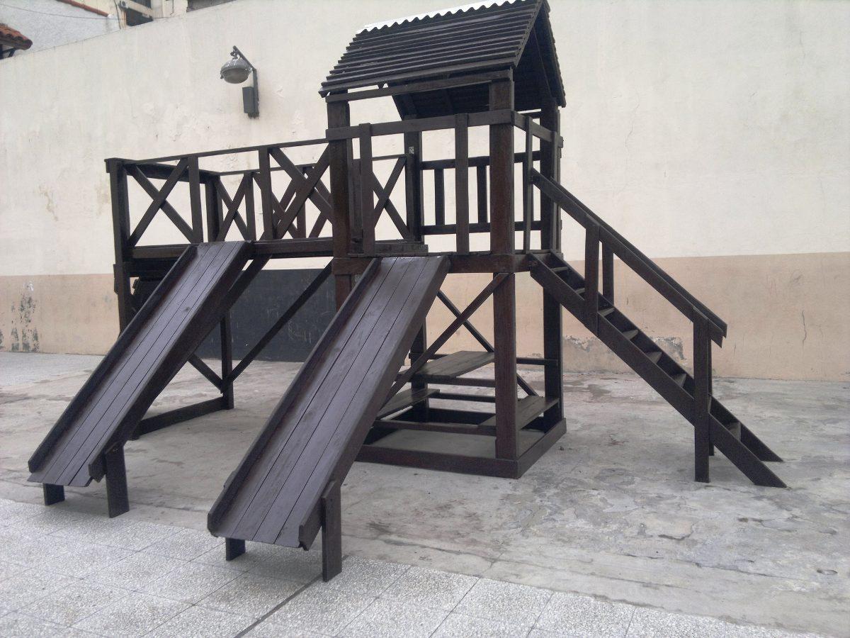 juegos infantiles en madera para jardines exterior interior