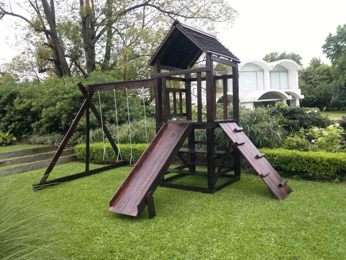 Juegos Infantiles En Madera Para Jardines Exterior/interior ...
