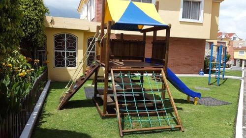 juegos infantiles - madera inmunizada