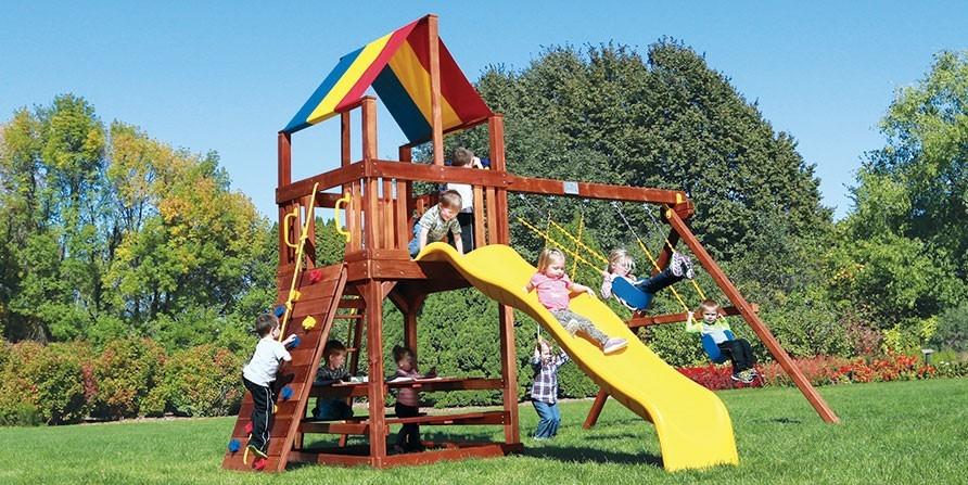 Juegos infantiles rainbow p jardin fiesta club house fch8 - Juegos infantiles para jardin de fiestas ...