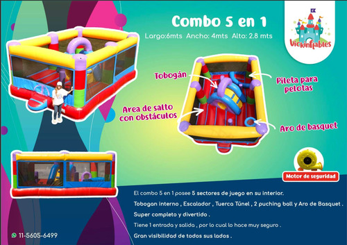 juegos inflables alquiler
