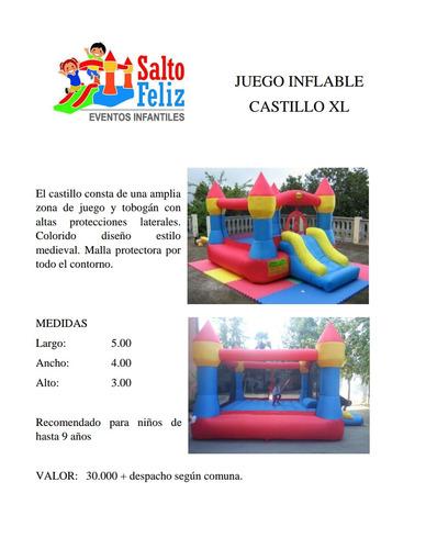 juegos inflables cama elástica piscina pelotas +569 97436982