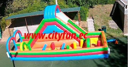juegos inflables, pista de obstaculos, eventos, saltarines