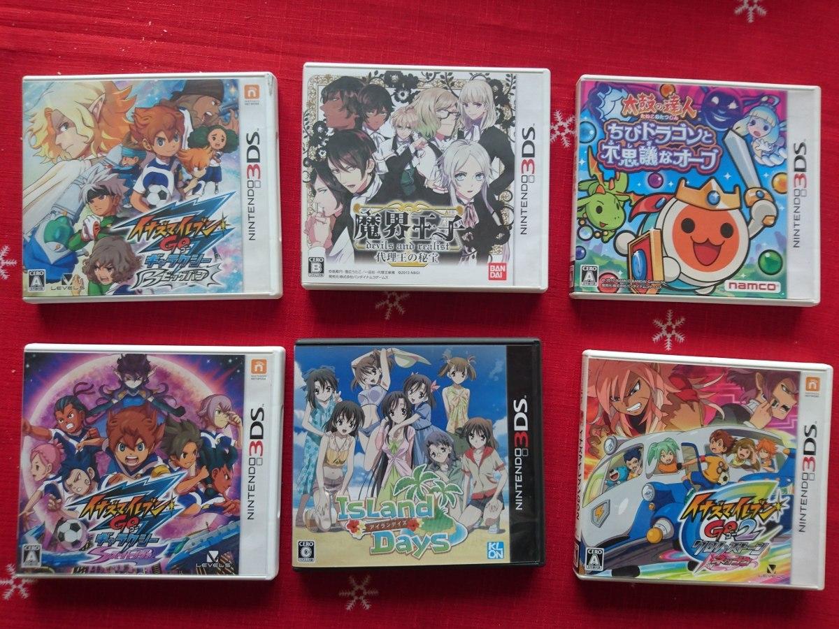 Juegos Japoneses Para Nintendo 3ds S 60 00 En Mercado Libre