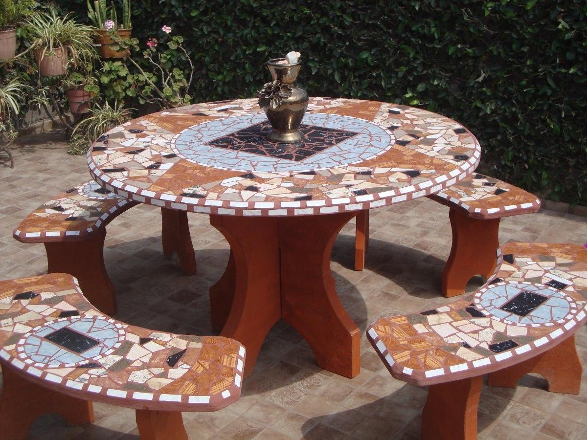 Juegos De Jardin De Cemento - $ 6.500,00 en Mercado Libre