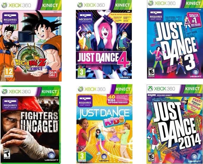 Lote Juegos Para Kinect Xbox 360 Ver Descripcion 599 00 En