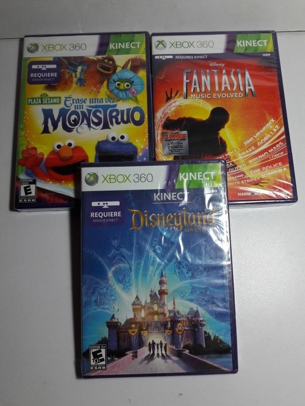Juegos Kinect Xbox 360 Erase Una Vez Fantasia Disneyland