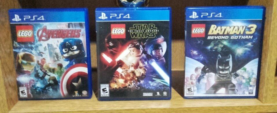 Lote Juegos Lego Ps4 Star Wars Batman 3 Advengers Fisicos 2 000