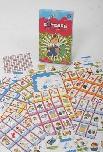 juegos loteria educativo valores y dinero