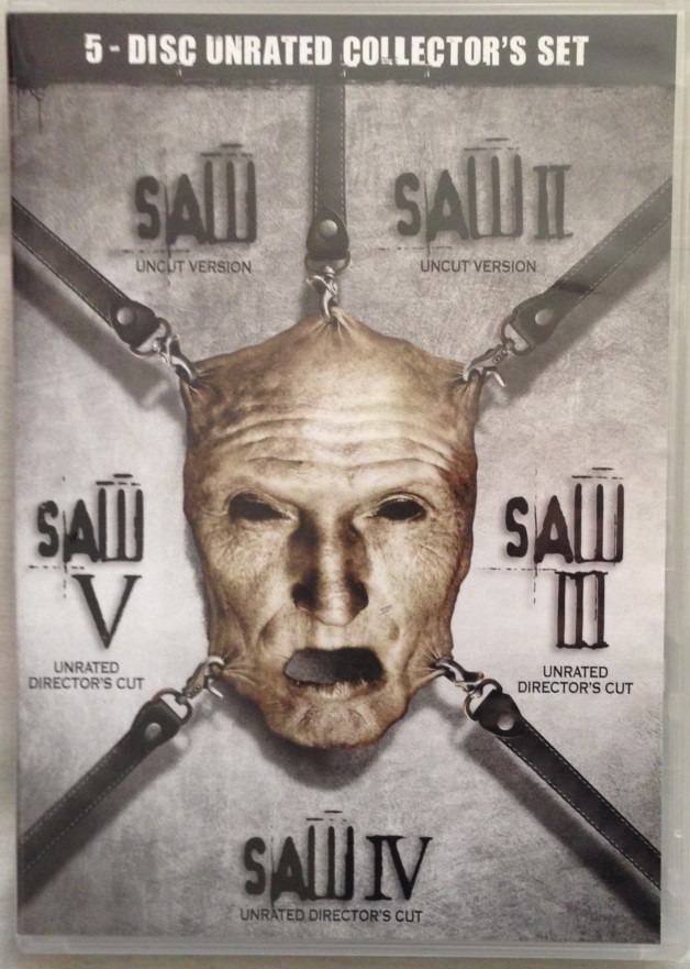 Juegos Macabros Saw 1 A 5 Dvds Originales Unrated Collecto U S