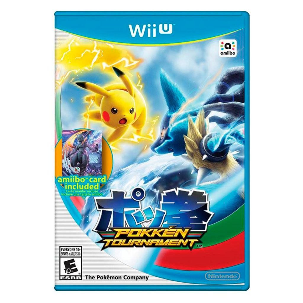 Juegos Marca Nintendo Wii U Videojuego Pokken Tourname 77 400