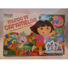Juego De Mesa Mundo De Caramelo De Dora La Exploradora en Mercado ...