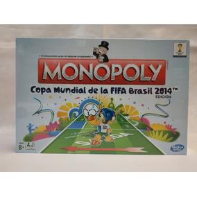c0f185c3678d1 Monopoly Edición Especial Copa Mundial Fifa Brasil 2014