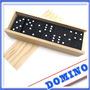 Set De Domino De Madera- 28 Piezas - Juegos De Mesa