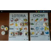 Lotería Tradicional Picoca (20 Cartones Y 84 Fichas)