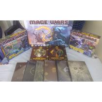 Juego De Cartas Mage Wars - Juego Base + 4 Expansiones