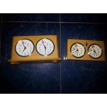 Ajedrez,relojes De Ajedrez, Analógicos Usados
