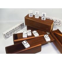 Domino 2 Grabados Madera Vera Profesional Piedra Grande
