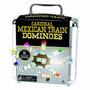 Tren Mexicano Domino Doble En Caja De Aluminio - Cardinal