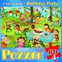 Jigsaw Puzzle - Fiesta De Cumpleaños De 60 Piezas Eurograph
