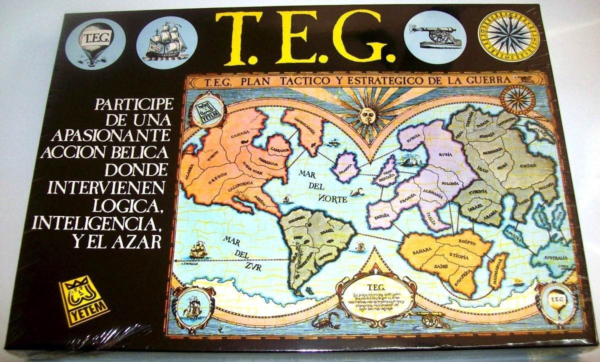 Yetem Juegos De Mesa Teg O Teg La Revancha 950 00 En Mercado