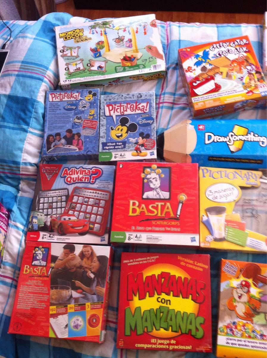 Juegos Mesa Varios Pictureka Basta Adivina Quien Pictionary