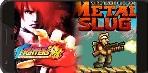 juegos metal slug y kings of fighter para android