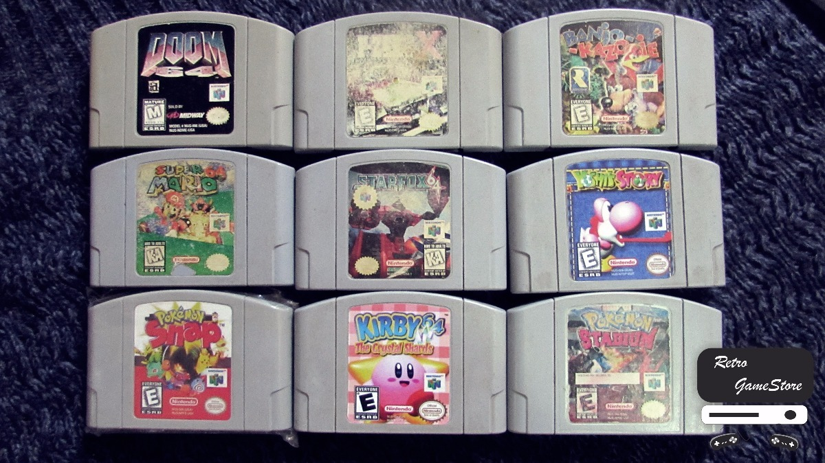 Juegos N64 Mario Pokemon Kirby Starfox Etc 3 500 00 En