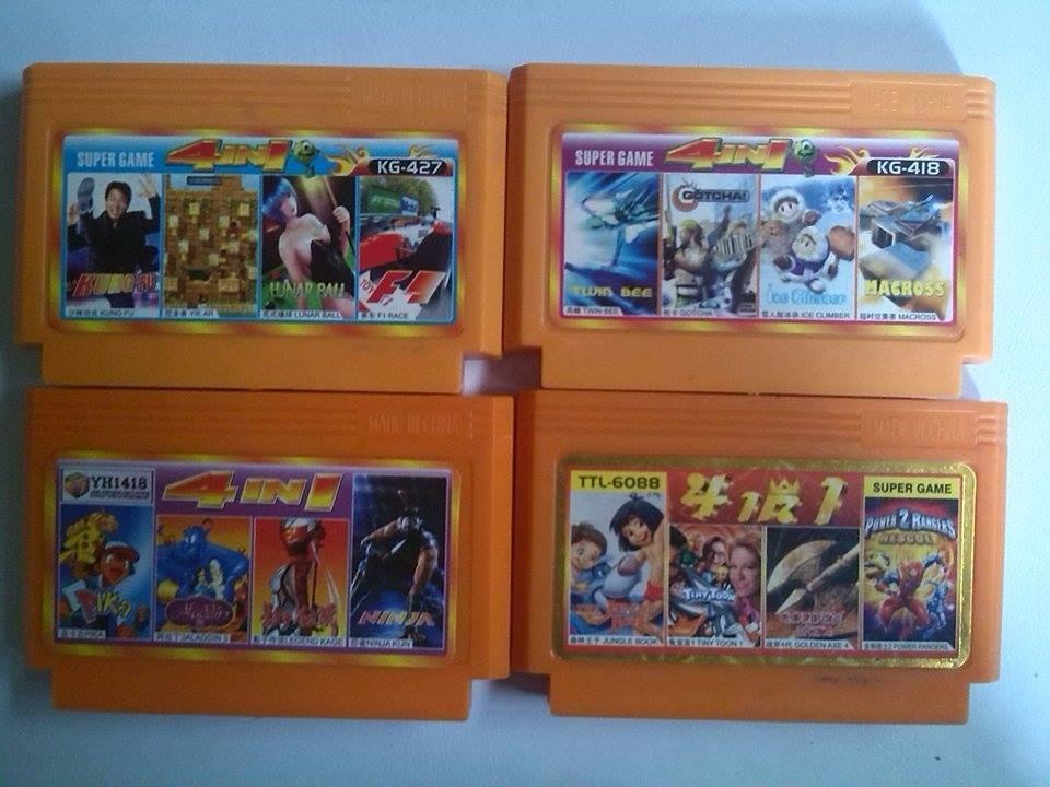 Juegos Nes Nintendo Asia Combo 4 En 1 Precio Viejo Bs 9 00 En