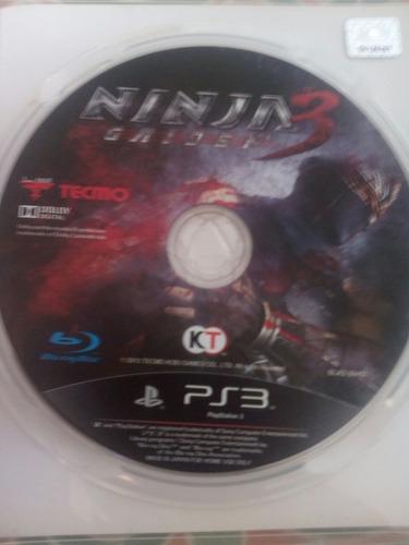 juegos ninja gaiden 3 para ps3