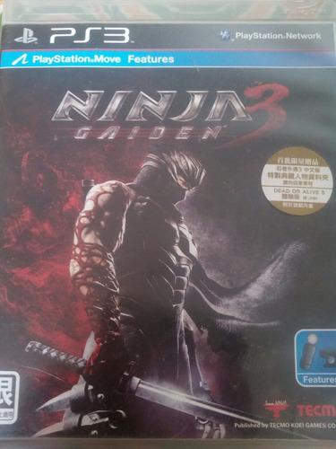 juegos ninja gaiden ps3