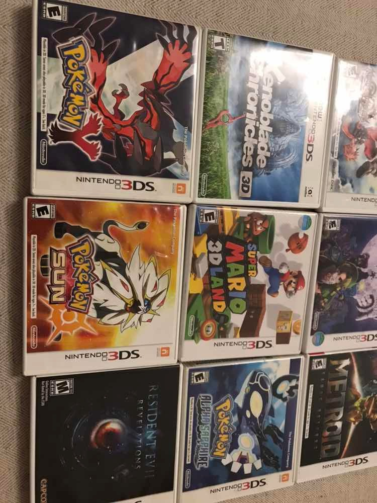 Lote Juegos Nintendo 3ds Xl 9 800 00 En Mercado Libre