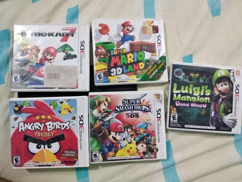 Juegos Nintendo 3ds 300 00 En Mercado Libre