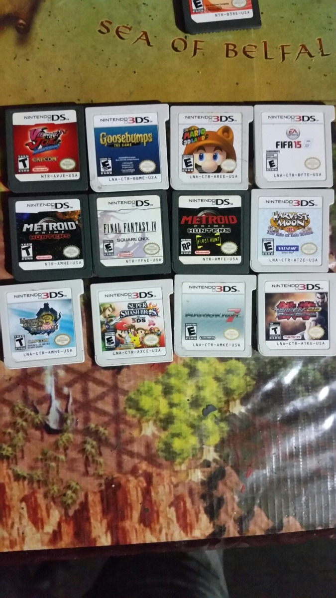 Juegos Nintendo 3ds Ds Final Fantasy Pokemon Mario Smash