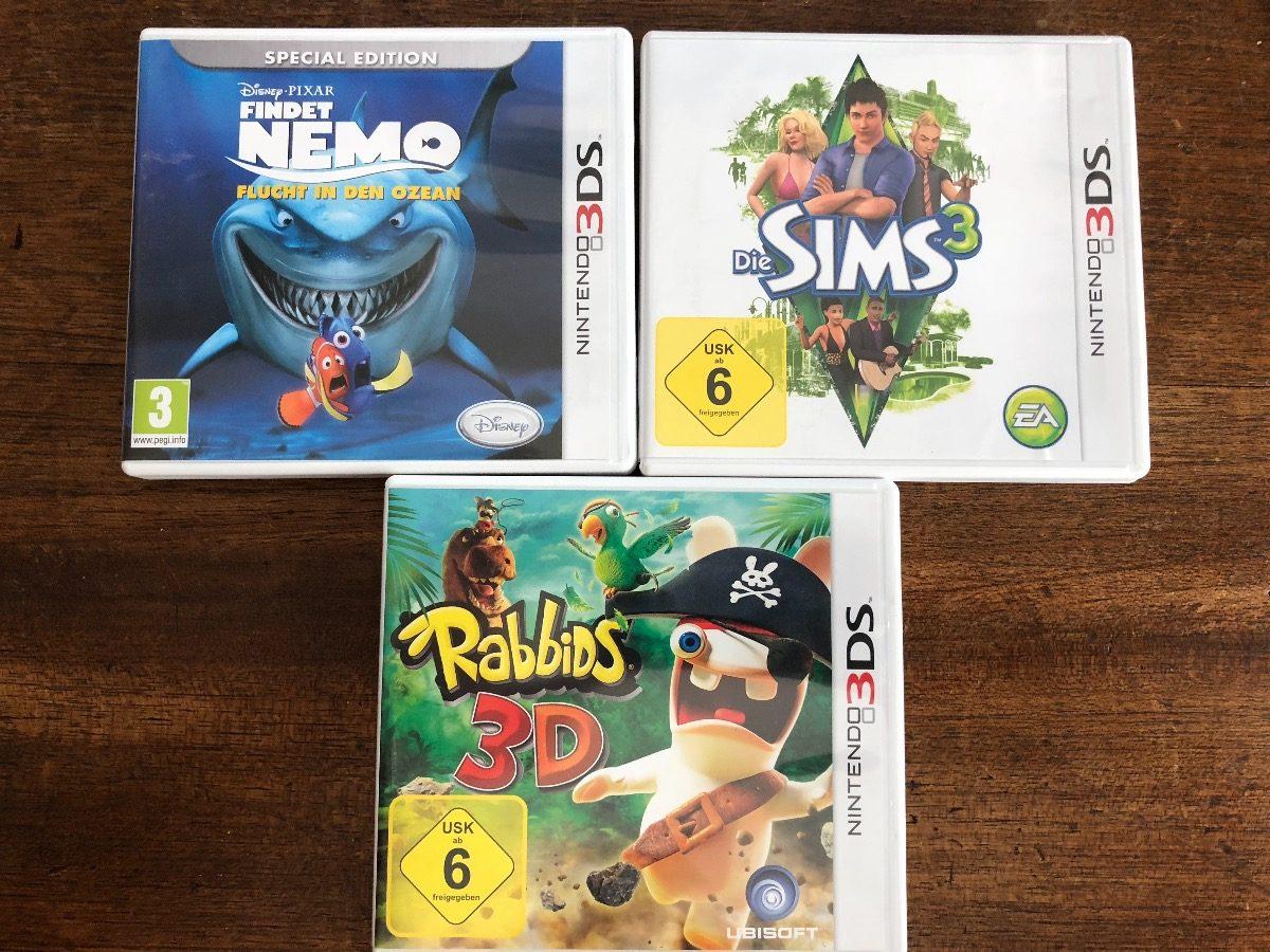Juegos Nintendo 3ds Nemo Y Rabbids 599 00 En Mercado Libre
