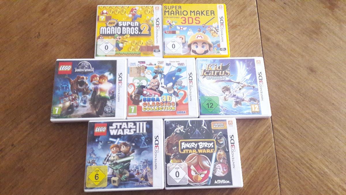 Juegos Nintendo 3ds Xl European Super Mario Maker Y Mas 1 500 00