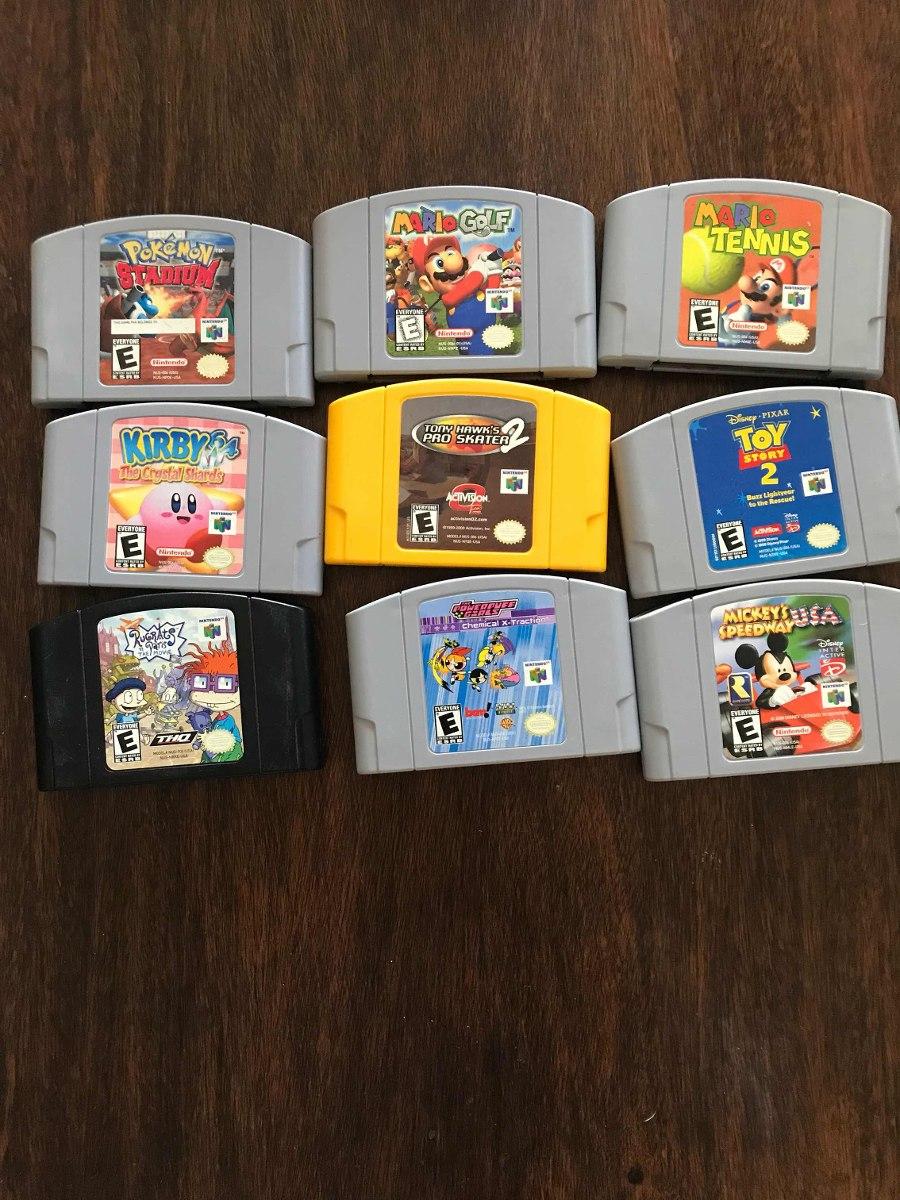 Juegos Nintendo 64 Pokemon Stadium 1 Tony Hawks 2 Ofertas Bs