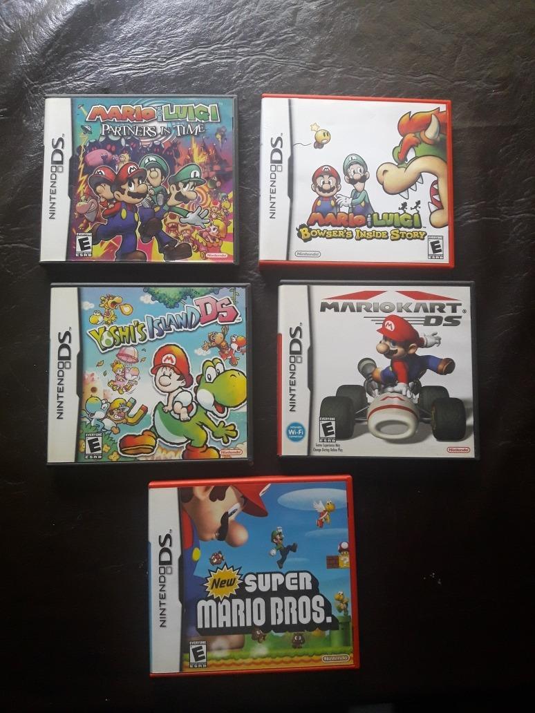 Juegos Nintendo Ds 3ds Mario Yoshi Kirby Megaman Zer