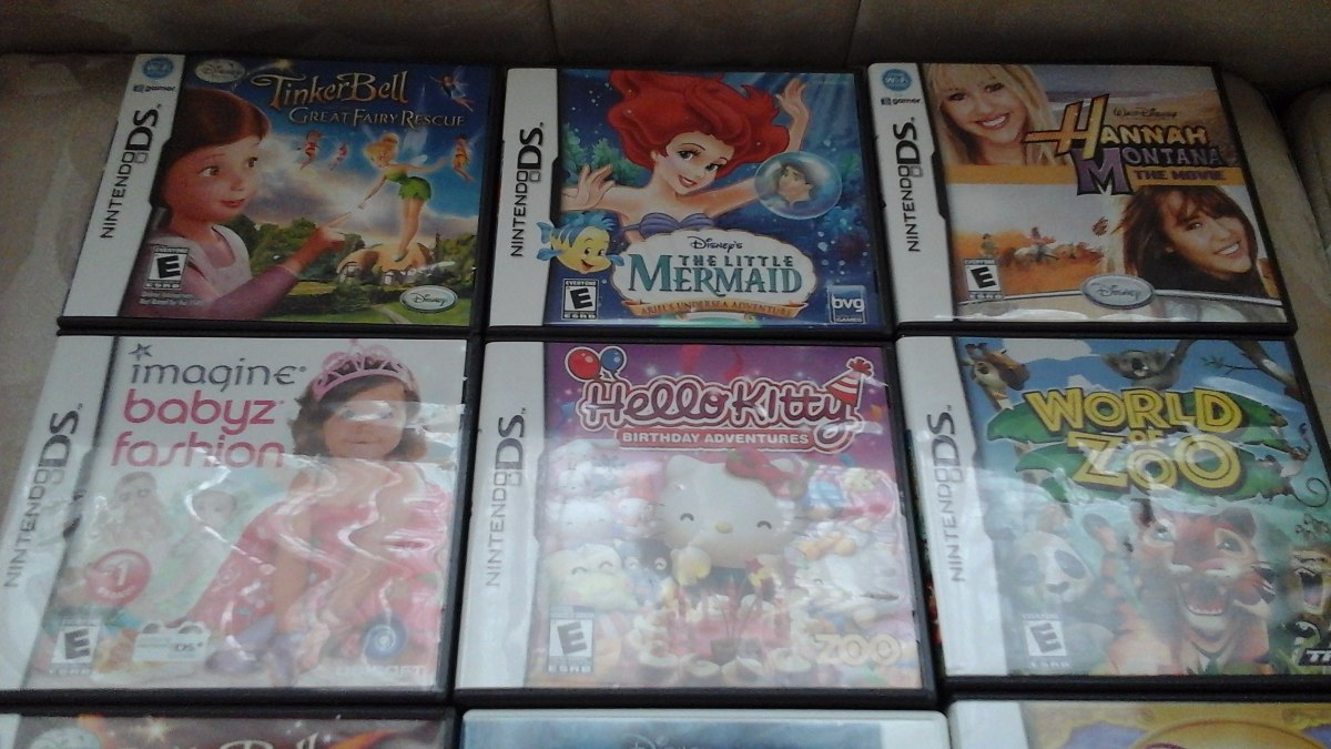 Juegos Nintendo Ds 3ds Para Nina 100 Original Importado Usa Bs
