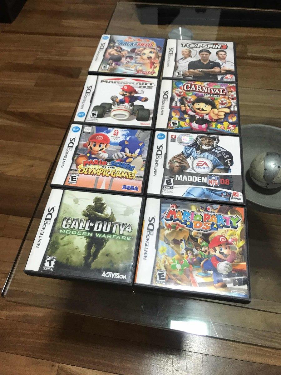 Juegos Nintendo Ds 200 00 En Mercado Libre