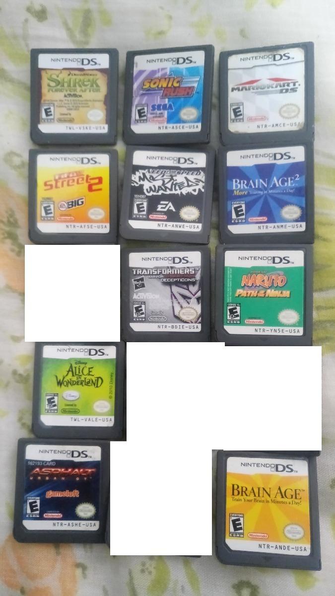 Juegos Nintendo Ds Leer Descripcion 150 00 En Mercado Libre