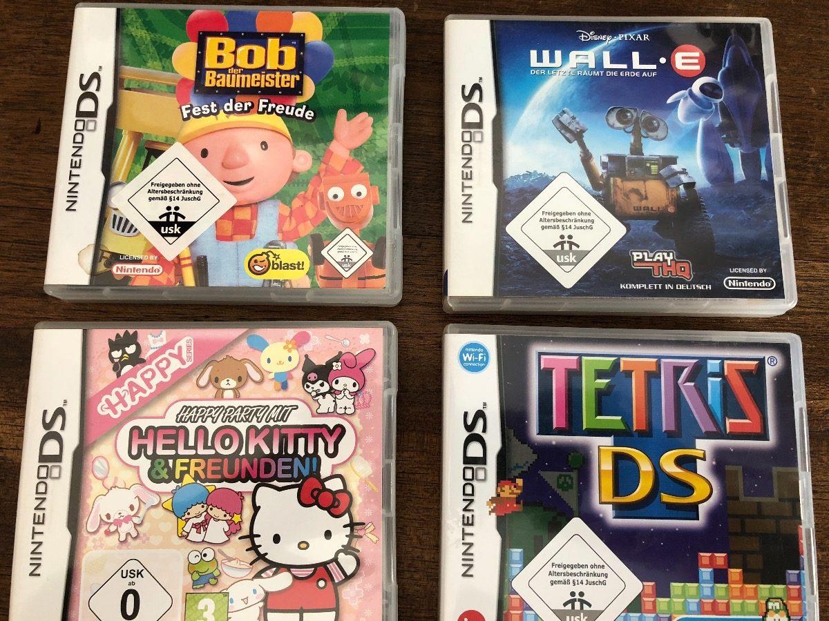 Juegos Nintendo Ds Wall E Bob Kitty 599 00 En Mercado Libre
