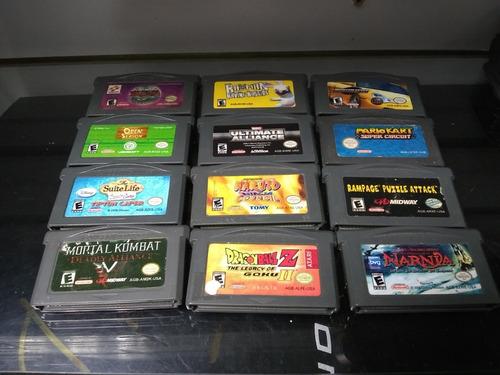 juegos nintendo gameboy advance usados para venta o cambio