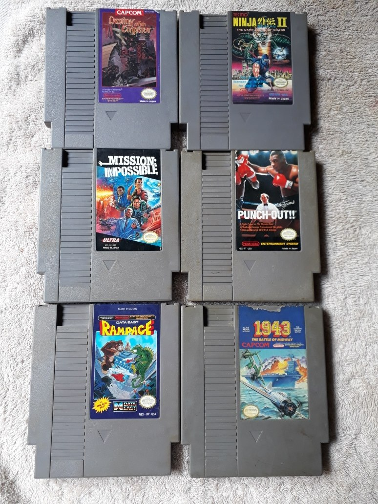 Juegos Nintendo Nes U S 20 00 En Mercado Libre