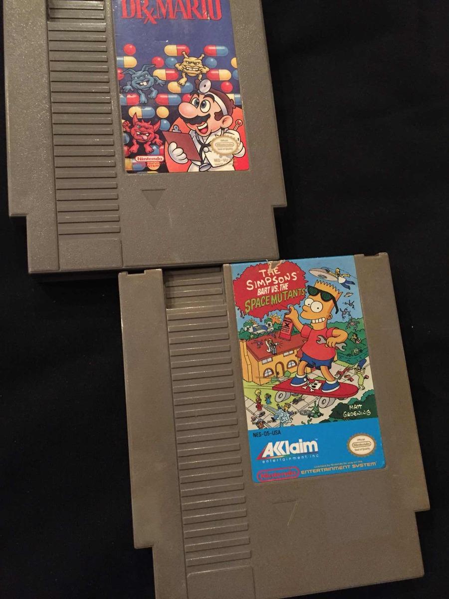 Juegos Nintendo Nes Dr Mario Los Simpson U S 15 00 En Mercado Libre